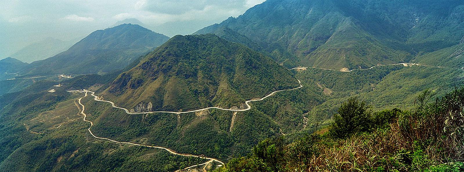 Road from Nha trang to Dalat